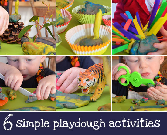 playdough ideas