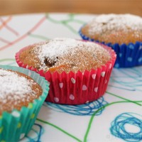Carrot and zucchini muffin recipe