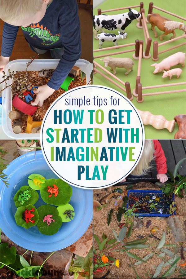 How to get started with imaginative play
