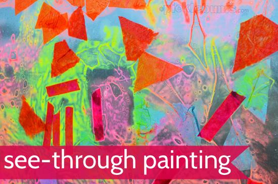see-through paintings