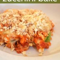 Super Easy Zucchini Bake