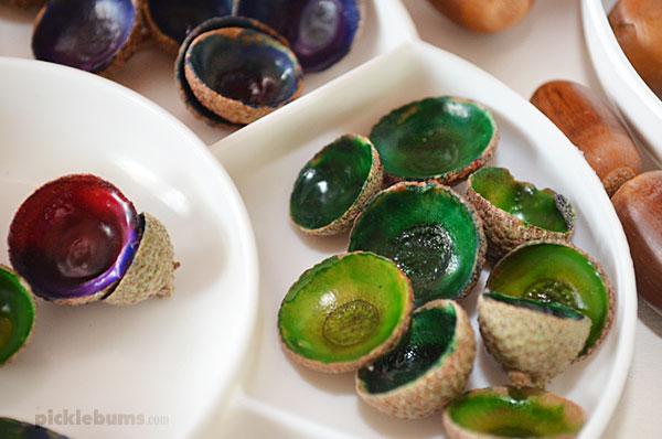 acorn cap jewels