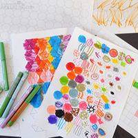 Graph paper drawing - a simple activity where art and maths combine