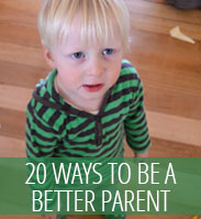 Parenting posts - be a better parent