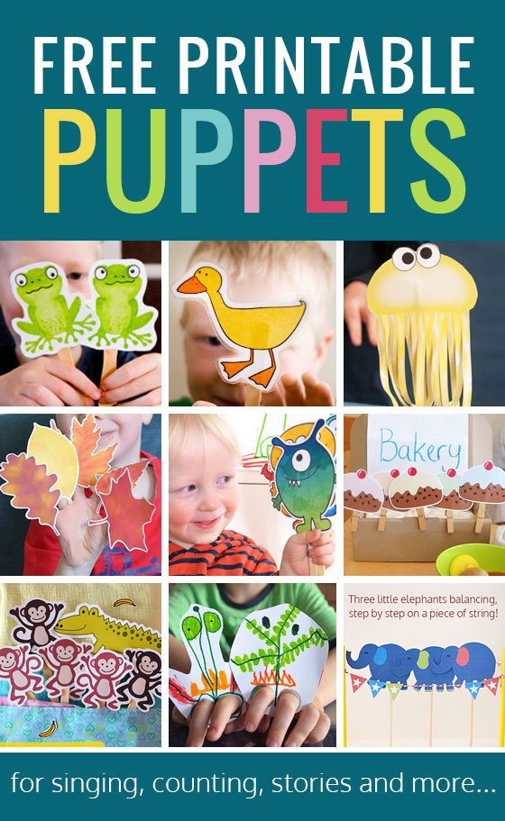graphic about Printable Puppets titled Amazing Free of charge Printable Puppets for Young children - Pickles