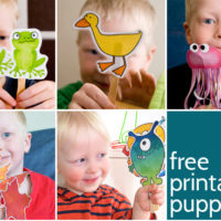 Printable Puppets - lots of free printable puppets for kids