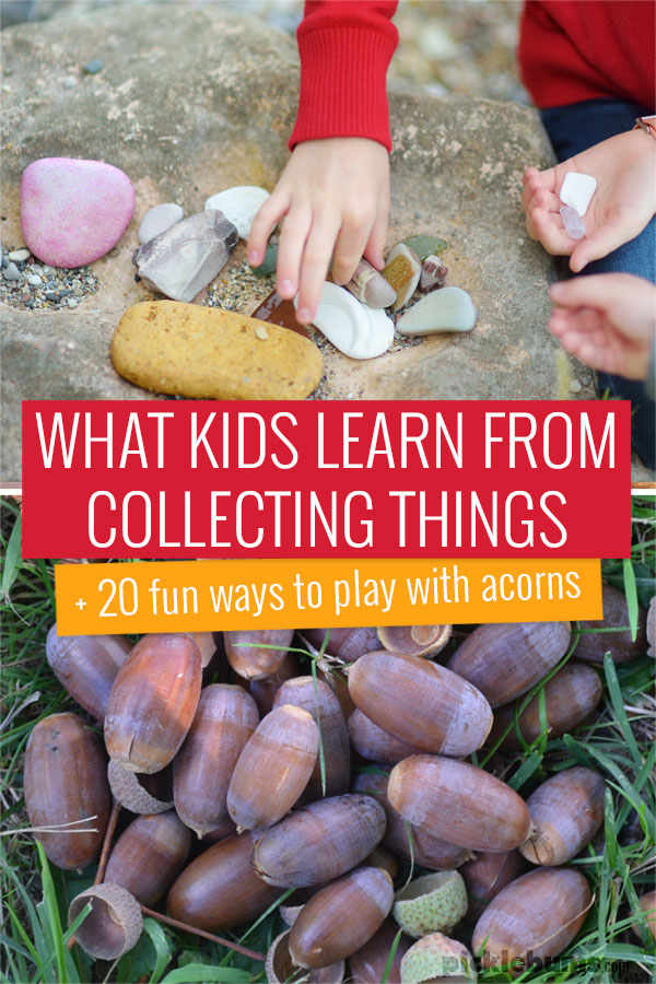 What kids learn from collecting things