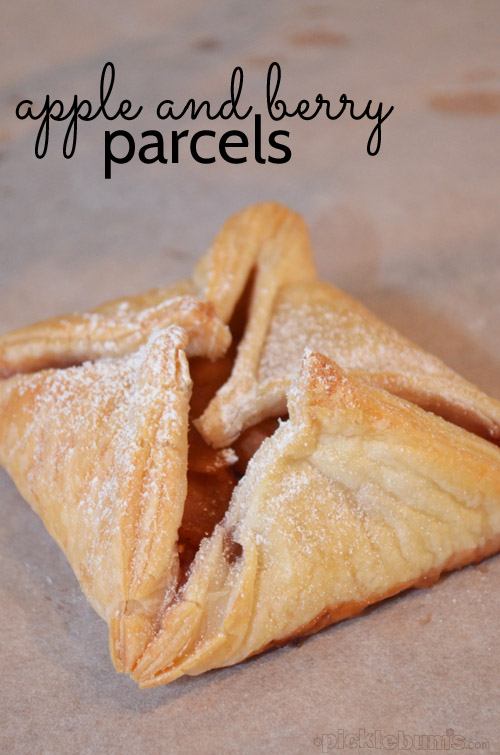 Apple Berry Parcels - quick, easy and delicious!