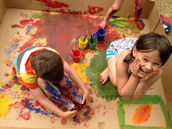 Letting the Mess In Without Losing Your Head - 5 messy play survival tips for reluctant grownups