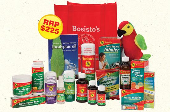 bosisto's competition