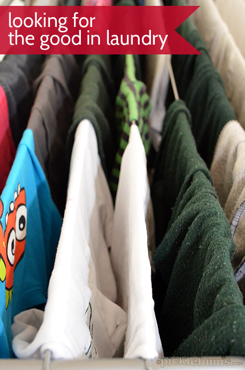 Finding the good in laundry - can you do it?