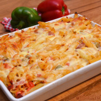 Pizza Pasta Bake - easy and delicious family meal