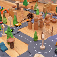Printable Roads for Awesome Imaginative Play.