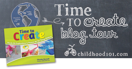 Time To Create - my boy is so excited to have helped Christie from @childhood101 to write this fabulous book