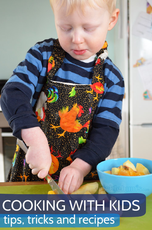 Cooking with kids - tips tricks and recipe ideas