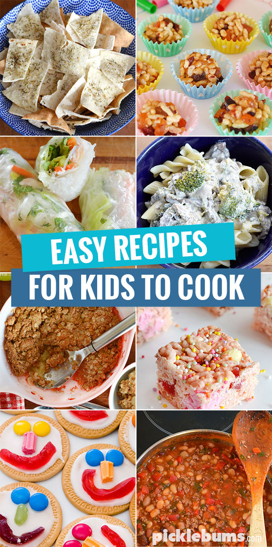 Cooking with Kids - tips, tricks and recipe ideas - Picklebums