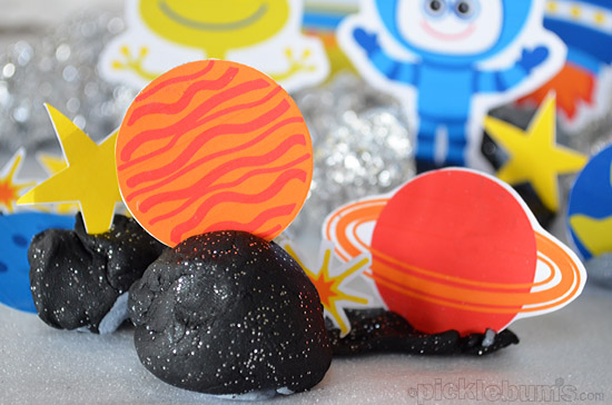 Space Crazy! Free Printable Space Characters.