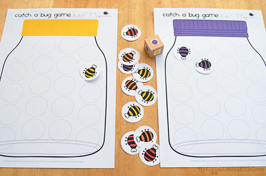 catch a bug free printable game picklebums