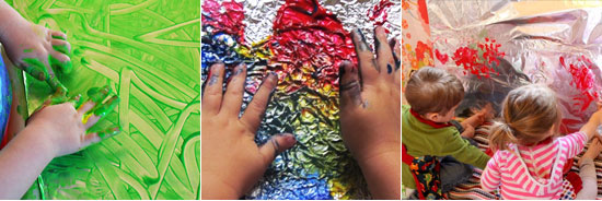 15 ways to play with tin foil