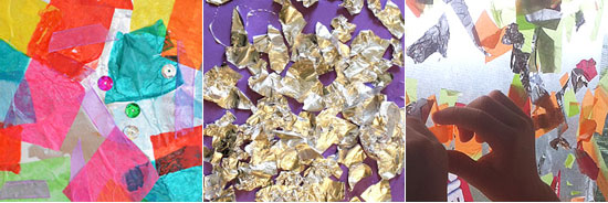 20 ways to play with tin foil
