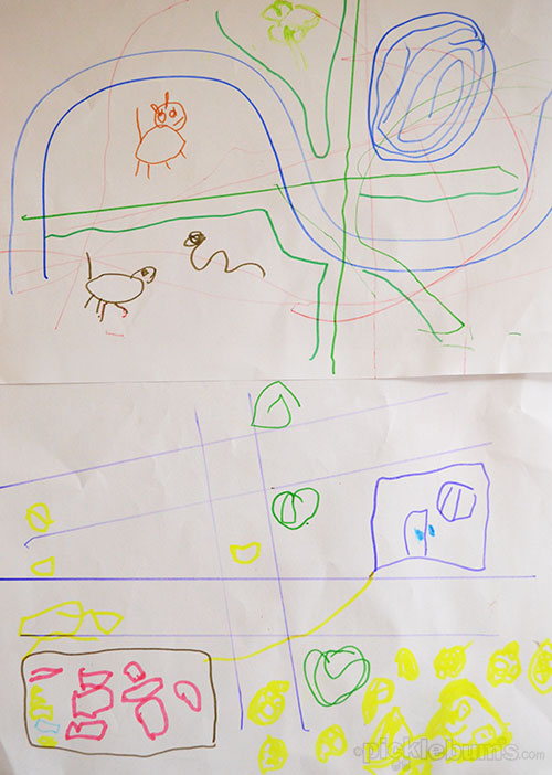 Playing with Maps - open ended exploration for preschoolers from picklebums.com