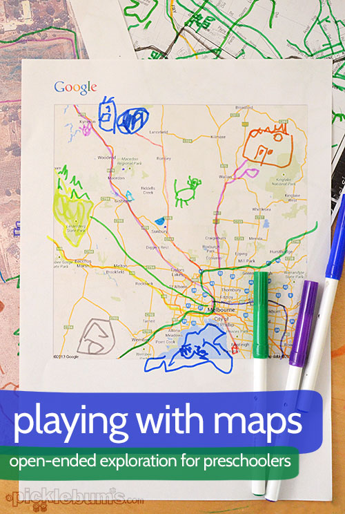Playing With Maps Picklebums Top of the world by holly hobbie. playing with maps picklebums