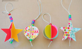 Free printable paper christmas ornaments