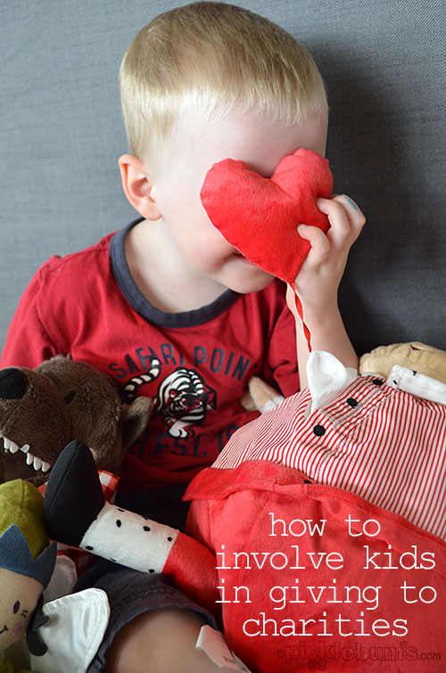 Involving your kids in giving - Ikea soft toy give away