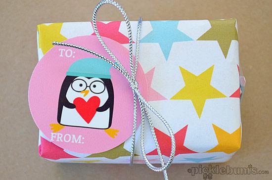 2013 Christmas Printables - Penguin Gift Tags!