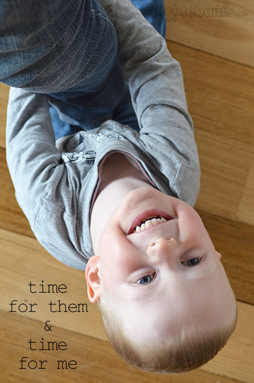 Somtimes it is a fine line when you are juggling time for your kids and time for yourself