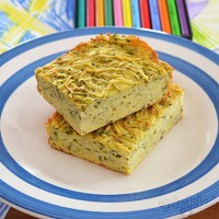 Potato and Zucchini Slice