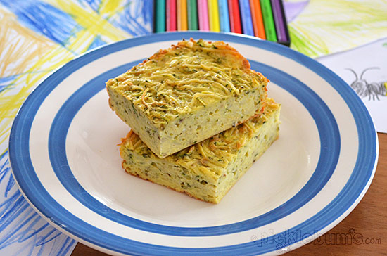Potato and Zucchini Slice recipe - quick, easy and delicious!