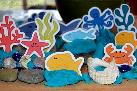 Six More Simple Play Dough Activities - play dough and free printables