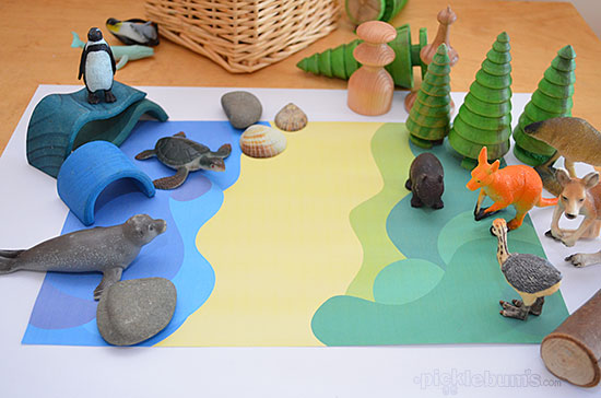 Printable Imaginative Play Mats Picklebums