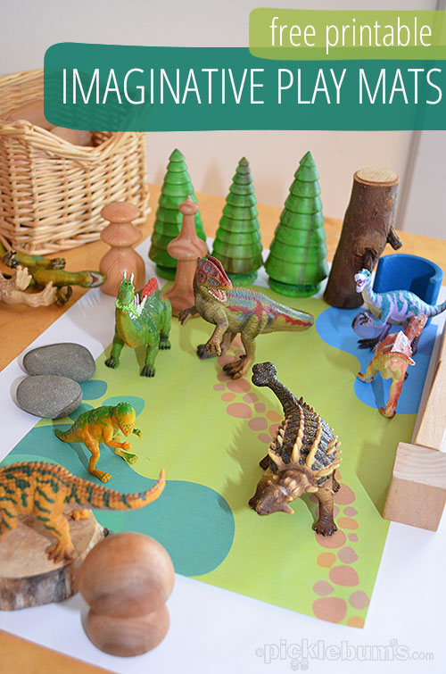 Printable Imaginative Play Mats Picklebums