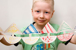 20+ Drawing Ideas and Activities - paper dolls, boats and more