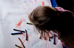 20+ Drawing Ideas and Activities - draw big!
