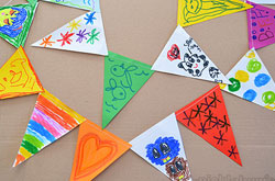 20+ Drawing Ideas and Activities - kidmade bunting