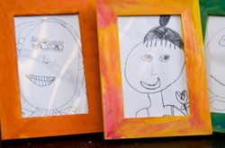 20+ Drawing Ideas and Activities - draw a family portrait