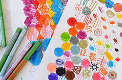 20+ Drawing Ideas and Activities - drawing with graph paper