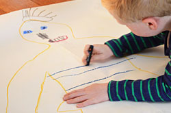 20+ Drawing Ideas and Activities - life size me