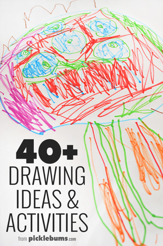 Awesome Drawing Ideas And Activities Picklebums