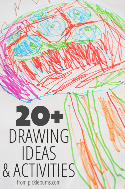 20+ Drawing Ideas and Activities