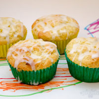 Lemon and Zucchini Muffins