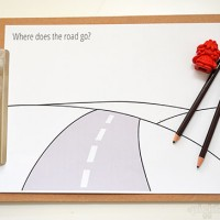 Road Trip Drawing Prompts – Free Printables.
