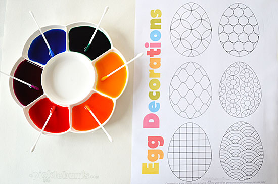photo relating to Printable Easter Decorations referred to as Deliver an Uncomplicated Easter Decoration. - Pickles