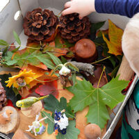 Simple Play Ideas - Autumn Imaginative Play in a Box!
