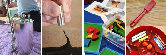 20  Magnet Ideas and Activities - playing, learning and creative with magnets