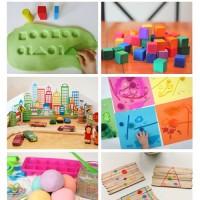Three to Five Playful Preschool ebook - 25+ activities and 10 printables