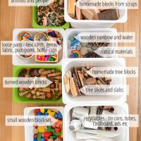 Block Play at Home - easy ideas that don't cost a bomb! - what we use for block play